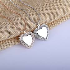 s day locket 2017 s day gift minimalist necklace stainless steel heart