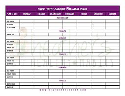 healthy eating planner template heather reichert piyo nutrition tools to help you succeed piyo 1400 1599 cal meal plan