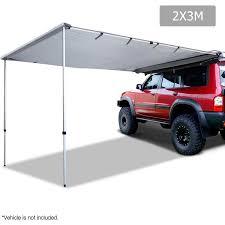 Vehicle Awning Waterproof Aluminium Frame Car Awning In Grey 2x3m Buy Car