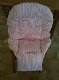 siege pour chaise haute housse du coussin pour chaise haute c nine qui coud