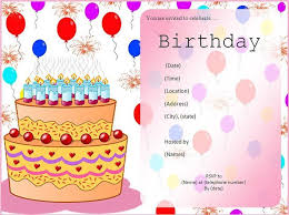 birthday invitations templates best 25 birthday invitation