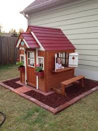 shed playhouse plans simple playhouse plans free diy to build for your kids secret