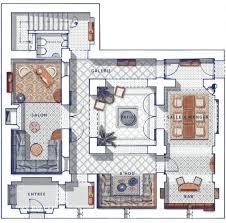 moroccan riad floor plan privilege riads
