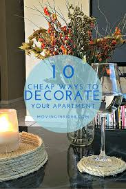 Cheap Ways To Decorate Your Apartment by 10 Cheap Ways To Decorate Your First Apartment Moving Insider