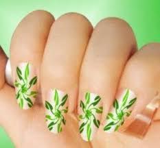 latest eid nail art designs 2012 for girls