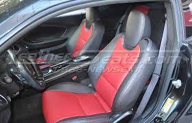 2013 camaro seat covers chevrolet camaro leather interiors
