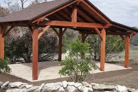 Tin Roof Outdoor Shelter Pavilions San Antonio Outdoor - Backyard shelters designs