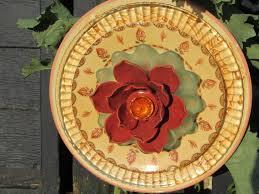 278 best ideals glass flower yard art images on pinterest glass