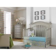 Crib That Converts To Toddler Bed by Dolce Babi Naples Crib In Grey Satin By Bivona U0026 Company