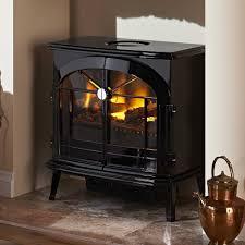 dimplex burgate electric opti myst stove in gloss black brg20 052780