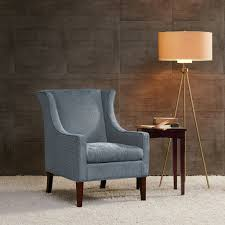 Wing Chairs For Living Room by Amazon Com Addy Wing Chair Blue See Below Kitchen U0026 Dining