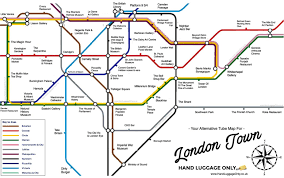 borough market plan this alternative london underground map shows you what to see at