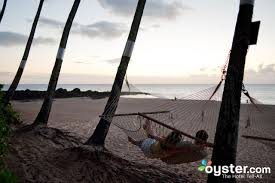 hammocks at the ke iki beach bungalows oyster com