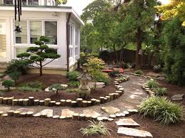 Japanese Garden Backyard Landscape Design By Lees Oriental - Asian backyard designs
