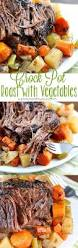 crock pot roast with vegetables healthy easy