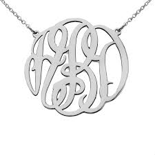 Monogram Necklaces Monogram Necklaces Monogram Charms Monogram Pendants Monogram