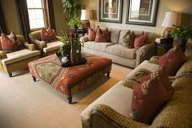 Living Room Without Rug Living Room Without Coffee Table Feature Dark Cherry Teak