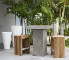 contemporary bar stool teak outdoor solo saveri singapore