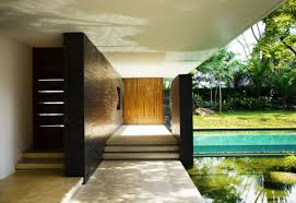 courtyard ideas path to pool of luxury green house ideas with natural courtyard