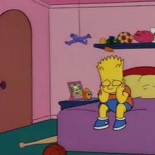 Bart Simpson Meme - bart simpson sad lisa pinterest bart simpson cartoon and memes