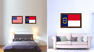 Interior Design Gifts North Carolina State Flag Home Decor Office Wall Art Livingroom