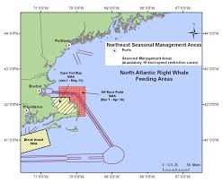 Map Of The East Coast Of Usa by Reducing Ship Strikes To North Atlantic Right Whales Noaa Fisheries