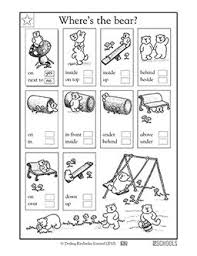 56 best positional words images on pinterest math activities