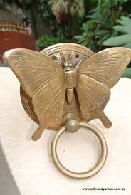 Bat Door Knocker by Solid Brass Heavy Butterfly Door Knocker 15 Cm High 12 Cm Wide