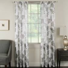 Alton Solid Grommet Window Curtain Panel Buy 95 Inch Window Curtain Panel In Taupe From Bed Bath U0026 Beyond