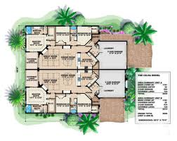 mediterranean style house plan 3 beds 2 00 baths 3570 sq ft plan