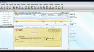 Free Cheque Template How To Print Cheque From With Voucher Youtube