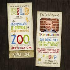 zoo birthday invitations kawaiitheo com