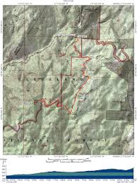 Yosemite Topo Map Sitton Peak Trail Socal Hiker