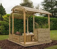 Door Canopy Kits B Q by Buy Cheap Garden Pergolas With Free Delivery Gardensite Co Uk