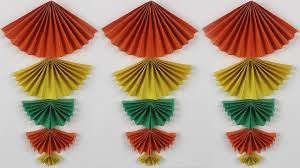 diy home decor origami idea new wall hanging crafts wall