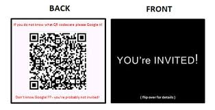 Create Qr Code For Business Card Diy On Modern Invitations Using Business Cards And Qr Codes 5 Steps