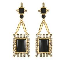 antoinette earrings antoinette earrings black onyx sequin
