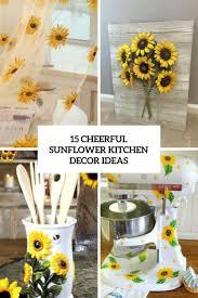 Sunflowers Decorations Home by Best 25 Sunflower Kitchen Decor Ideas On Pinterest Sunflower