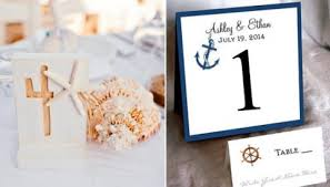 Wedding Table Cards 48 Creative Beach Wedding Table Numbers Happywedd Com
