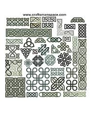 collection of 39 celtic knot patterns