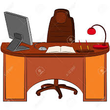bureau clipart office desk clipart free best office desk clipart on