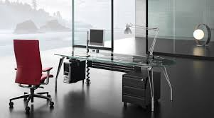 Modern Bureau Desks by Furniture Office Contemporary Modern Executive Desk Glass Modern