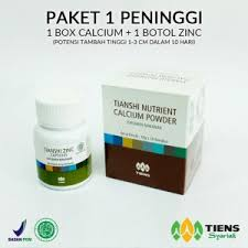 Obat Zinc distributor resmi agen tiens indonesia peninggi badan agentiens