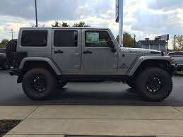 jeep wrangler 4 door silver 2015 jk350 billet silver american expedition vehicles product