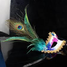 peacock mardi gras mask mask peacock feather masquerade mardi gras mask