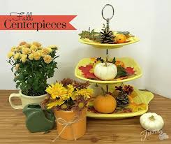 Fall Centerpieces October 2015 Fiesta Dinnerware Always Festive