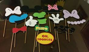 mickey mouse photo booth mickey mouse clubhouse photo booth props
