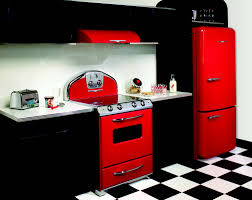 Red Kitchen Decor Ideas by Kitchen Modern Black Kitchen Decor Ideas With Black Tiles Floor