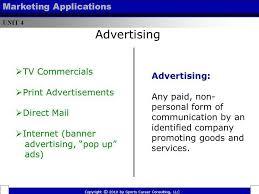 unit 4 u2013 marketing applications ppt download