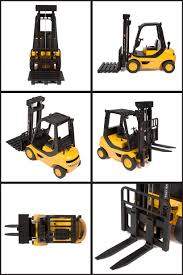 heavy duty forklift 1 8 rtr electric rc construction vehicle